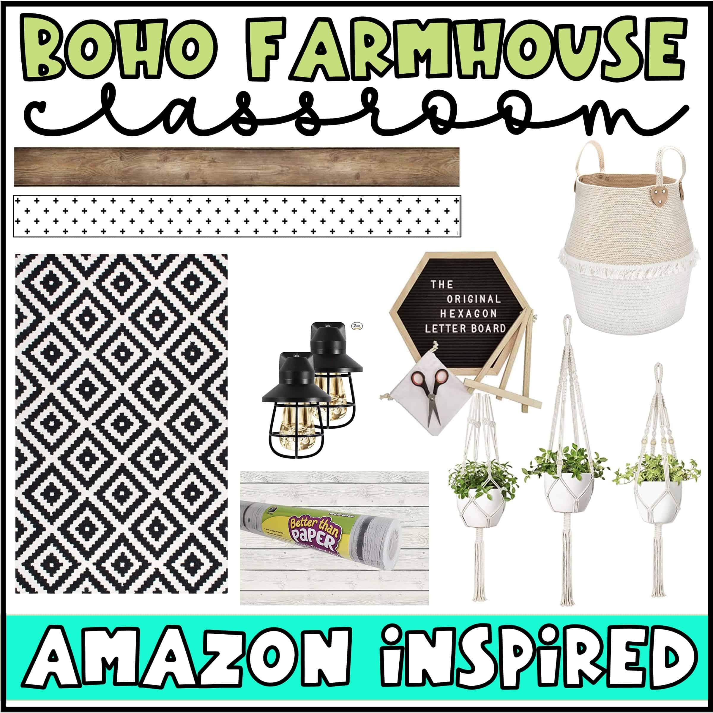 Boho Farmhouse Classroom Amazon Finds Confetti And Creativity